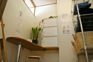 体のバランス矯正院 更衣室